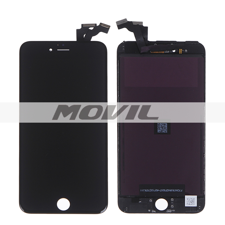 For iPhone 6 Plus LCD Display+Touch Screen Digitizer+Frame assembly Free Shipping 5.5 inch black