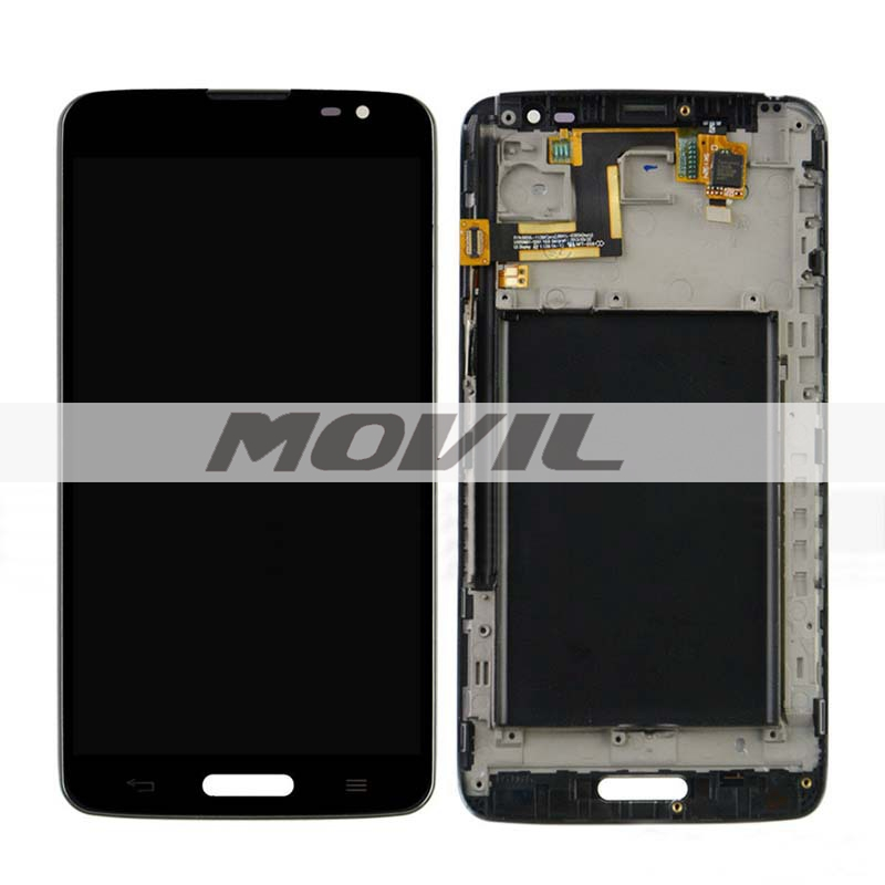 Frame BLACK LCD Display + Touch Screen Digitizer Assembly Replacement For LG G Pro Lite D680 D682 D682TR
