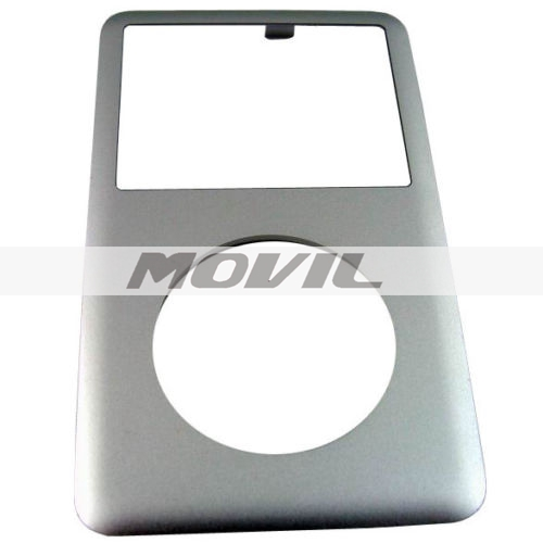 Front Cover Housing Replacement for iPod Classic - Silver