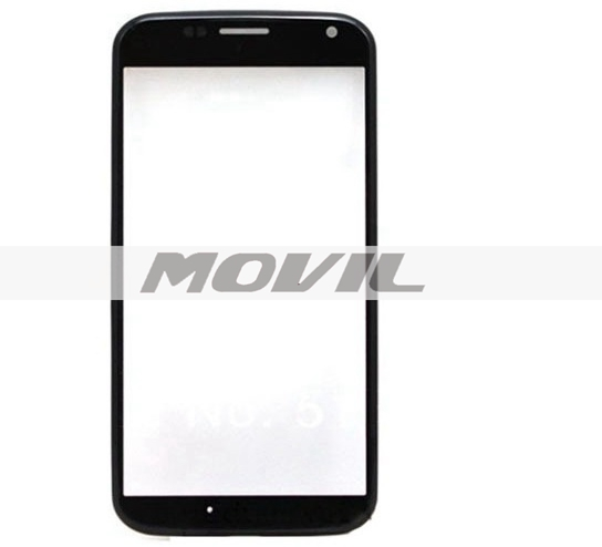 Front Glass For Motorola Moto X XT1060 1058 Touch Glass Lens Only With Frame