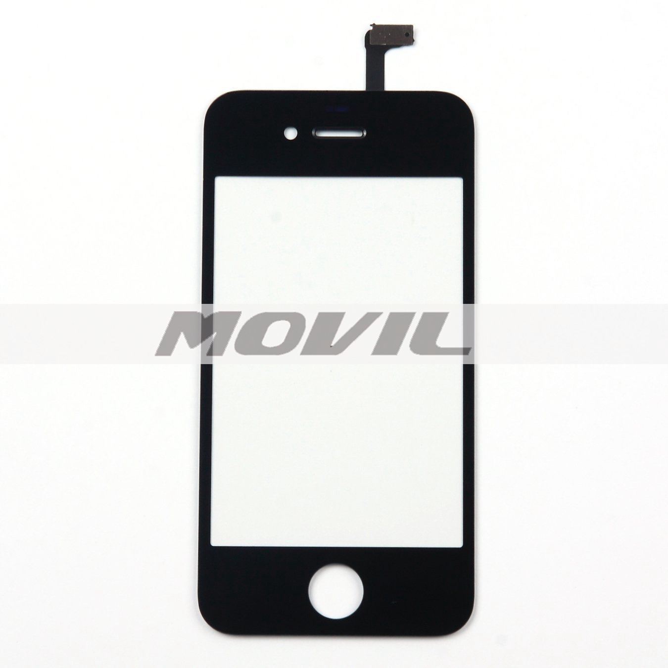 Front Glass Touch Screen Digitizer Replacement for iPhone 4 4G 4S (Black)
