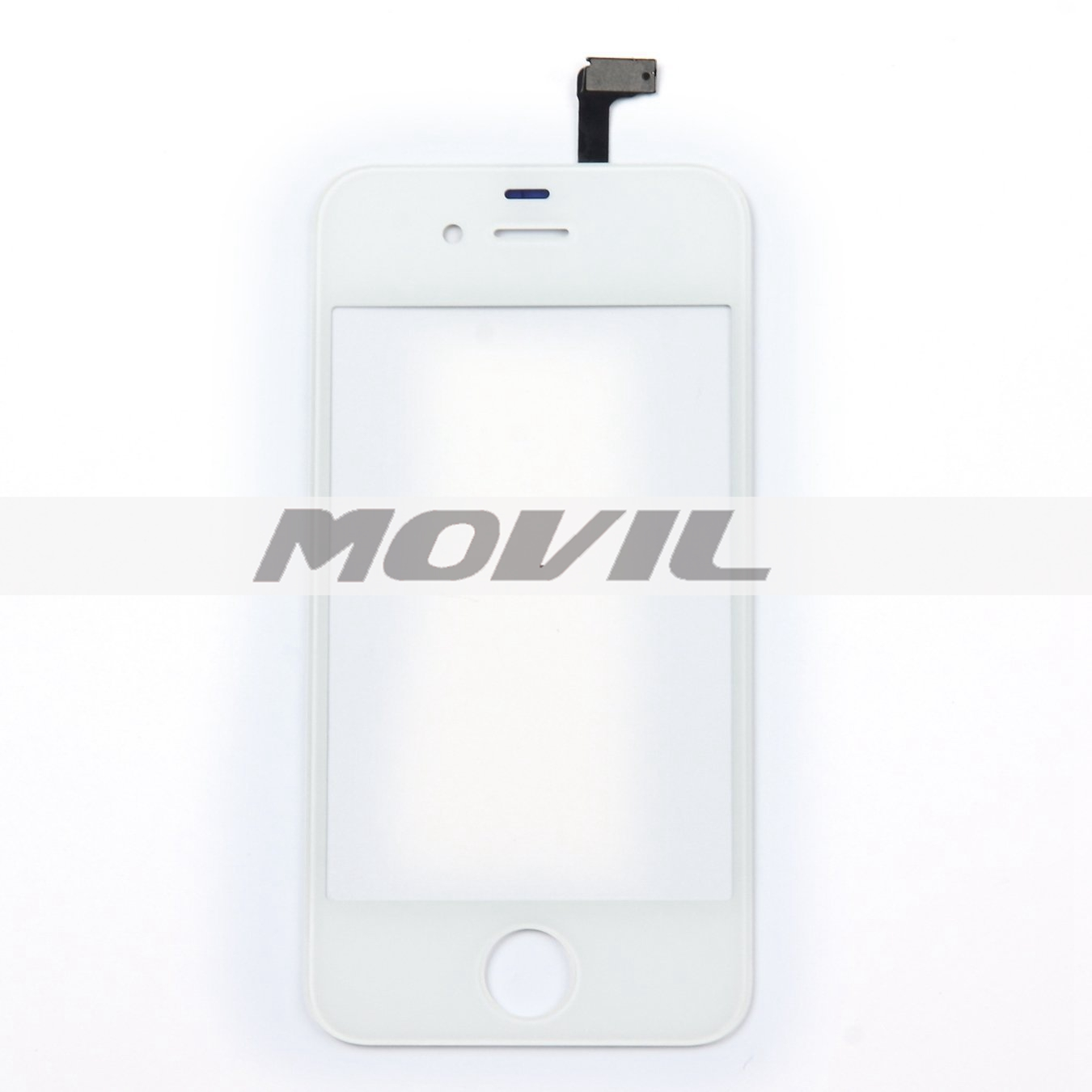 Front Glass Touch Screen Digitizer Replacement for iPhone 4 4G 4S (White)