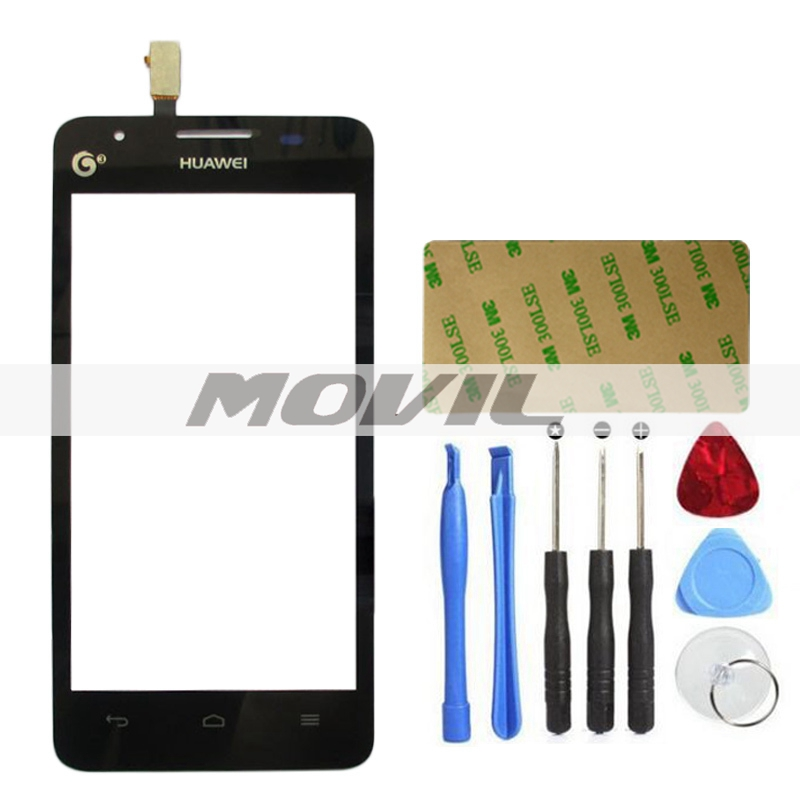 Front Outer Lens Glass Capacitive Touch Screen For HUAWEI Ascend G510 U8951d sensor touch