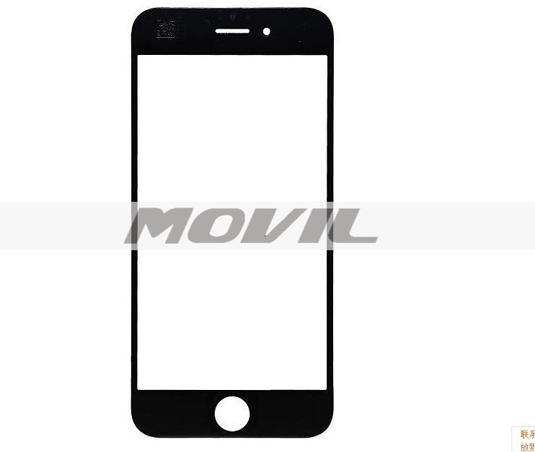 Front Outer Touch Screen Lens Glass Replacement For iPhone 6 6g 4.7 Black