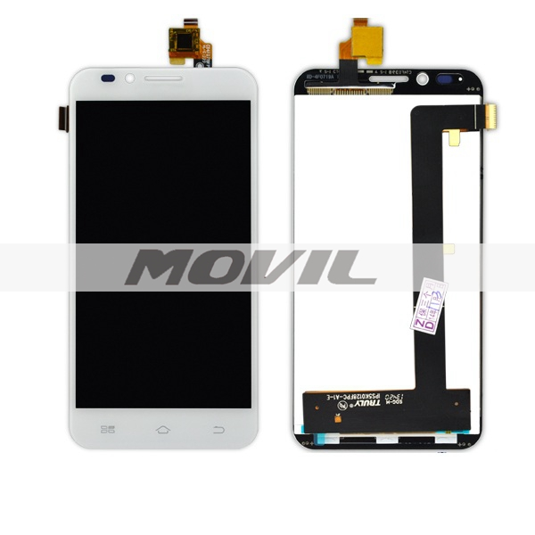 Full LCD Display + Touch Screen Digitizer Glass Panel For Coolpad 9150 White