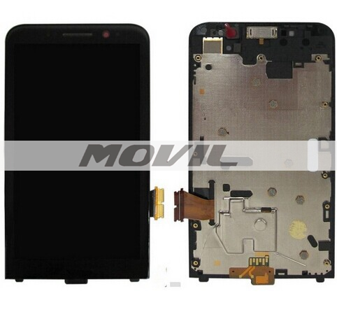 Full LCD Display+Touch Screen+Free Tools Original Black For BlackBerry Z30
