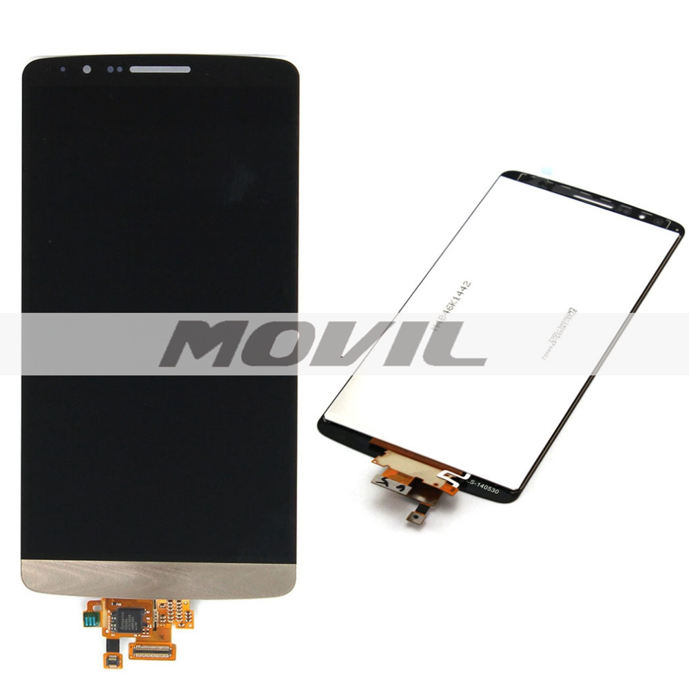 Gold For LG G3 D850 D851 D855 New LCD Display Screen Monitor + Digitizer Touch Screen Glass Assembly