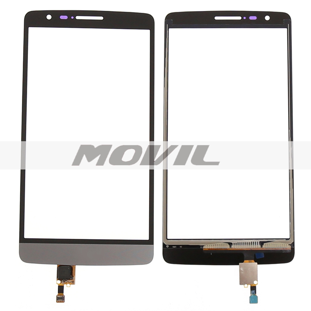 Grey Color Touch Panel For LG G3 Mini D722 D722K D724 D725 Touch Screen with Digitizer Glass lens