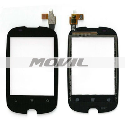 Huawei Y100 U8185 New Black Touch Screen Digitizer Panel Sensor Lens Glass Replacement