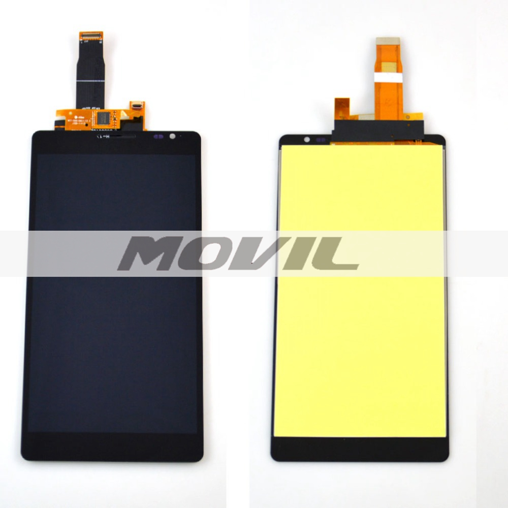 Huawei ascend mate mt1-u06 LCD display touch screen with digitizer Assembly Black