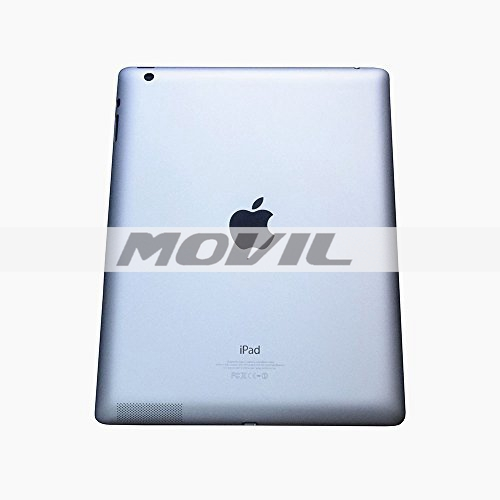 Ipad 4 Generation 9.7 Case New Gray Metal Aluminum Back Cover Housing Middle Frame Bezel Chassis Replacement with Free Tools for Ipad 4 Wifi