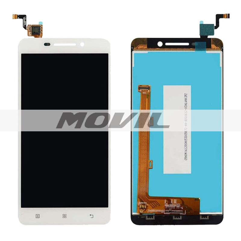 LCD Display + Touch Screen Digitizer Assembly Replacement for Lenovo A5000(White)