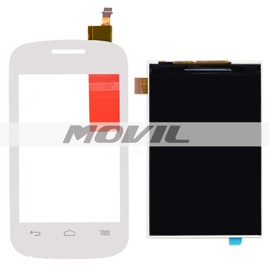 LCD Display Panel Screen + Touch Screen Digitizer For Alcatel One Touch POP C1 OT-4015X 4015A 4015N White