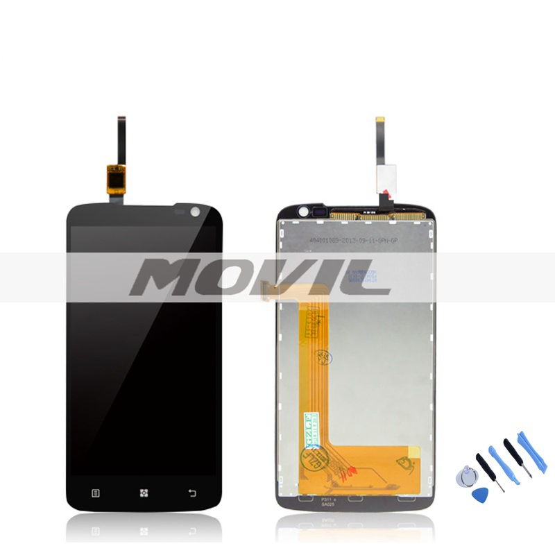 LCD Display Screen With Touch Digitizer Assembly Complete For Lenovo S820