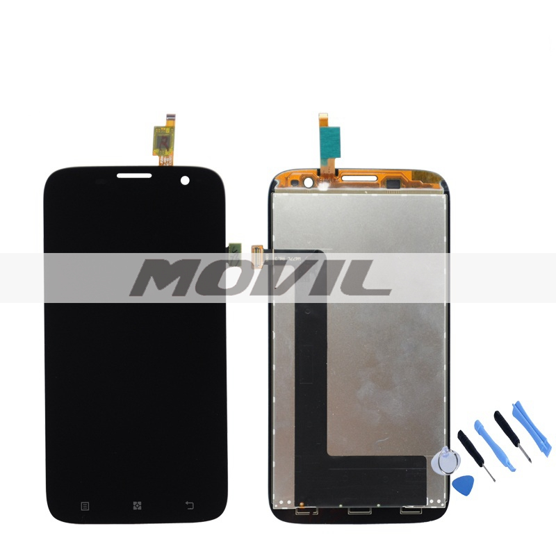 LCD Display Screen With Touch Digitizer Assembly For Lenovo A859