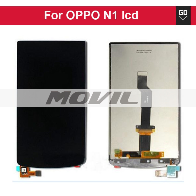 LCD Display Screen with touch screen digitizer Glass for OPPO N1