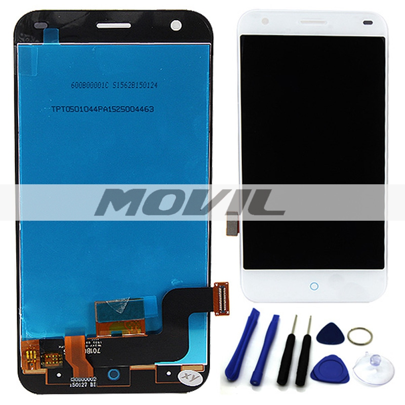 LCD Display Touch Screen digitizer + Free Repair Tools Replacement Assembly For ZTE Blade S6