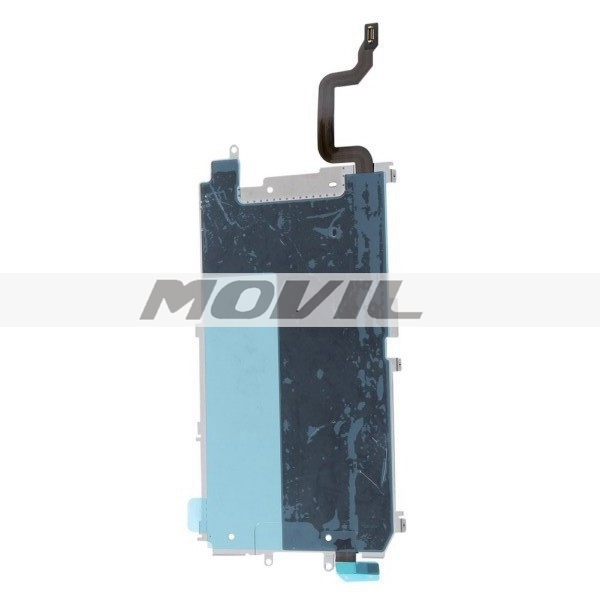 LCD Metal Backplate Shield + Home Button Extend Flex Cable For iPhone 6 4.7