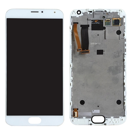 LCD Screen + Touch Screen Digitizer Assembly for Meizu MX5(Black White)
