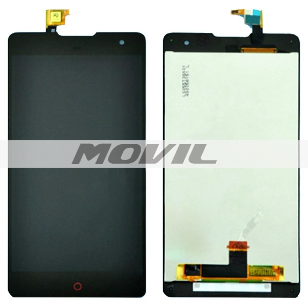 LCD Screen + Touch Screen Digitizer Assembly for ZTE Nubia Z7 Max  NX505J(Black)