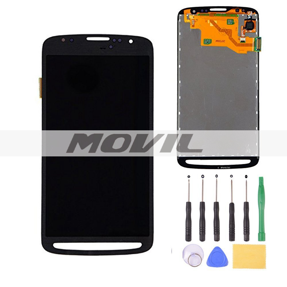 LCD Screen+Touch Digitizer Assembly for Samsung Galaxy S4 Active i9295 i537 Gray