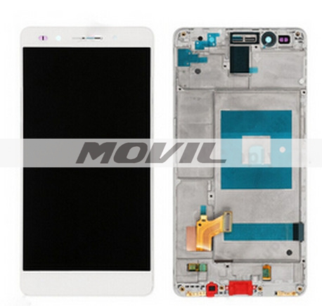 LCD screen display+touch panel digiziter with frame For Huawei Honor 7 White or gold or black