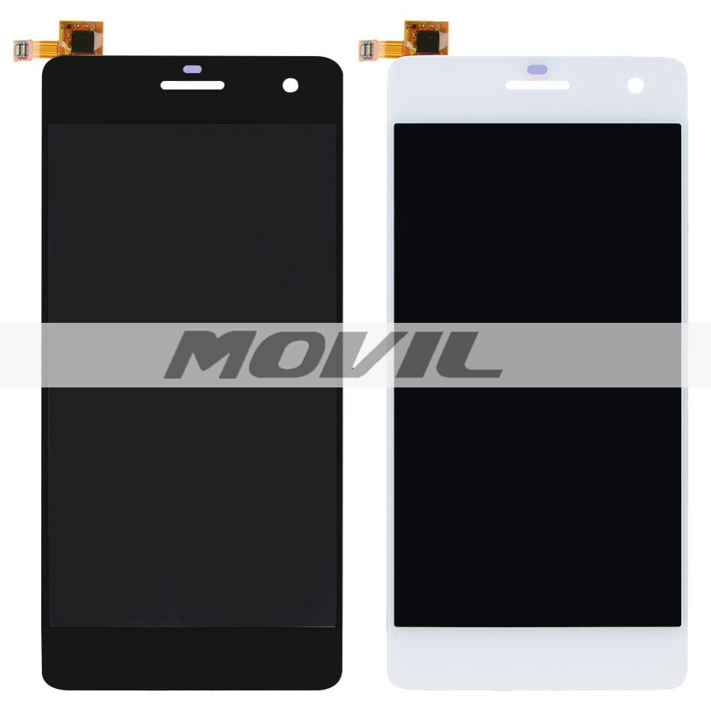 New 5 Inch 4G LCD Display Touch Screen Digitizer Assembly BlackWhite For Wiko Highway VAH04 T15