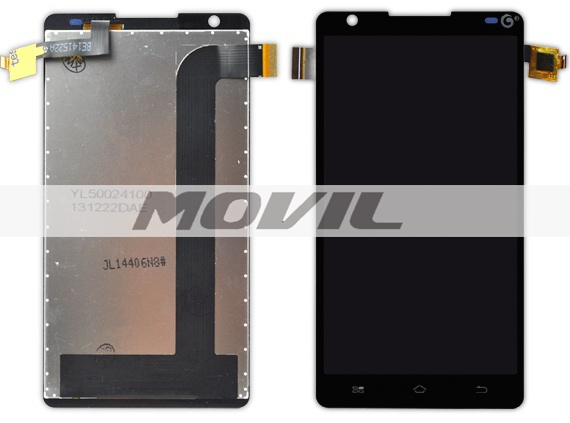 New Black Original Touch Screen Digitizer+LCD Display Assembly For Coolpad 8720