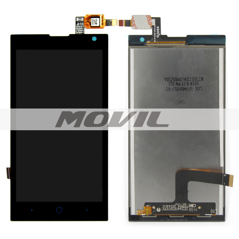 New LCD Display and Touch Screen Digitizer Assembly For ZTE Kis Max V830W Black