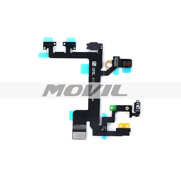 New OEM Power Switch On OFF Flex Cable Replacement For iPhone 5S