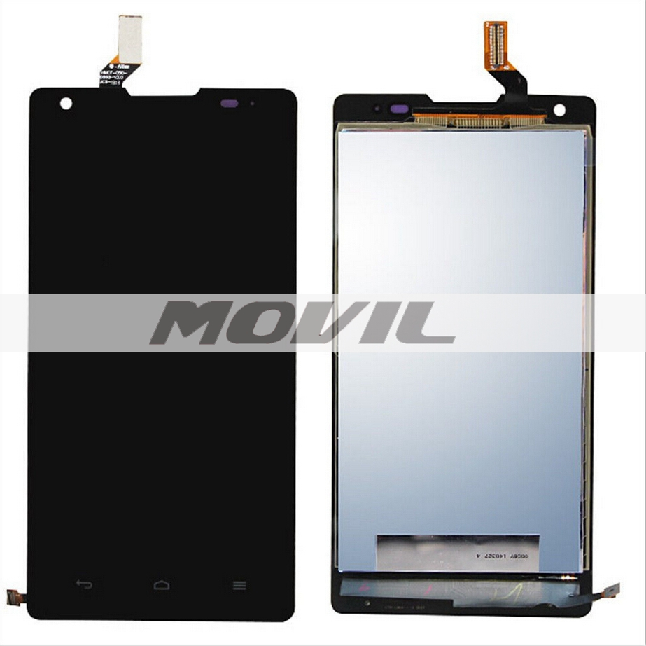 Original Assembly full LCD Display Touch Screen for Huawei Ascend G700 Black