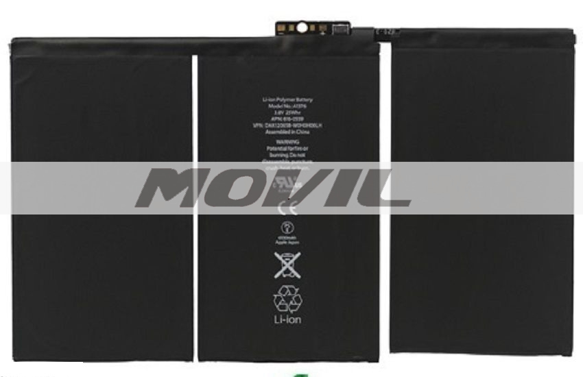 Original Battery Replacement Part for iPad 2 2nd Gen OEM