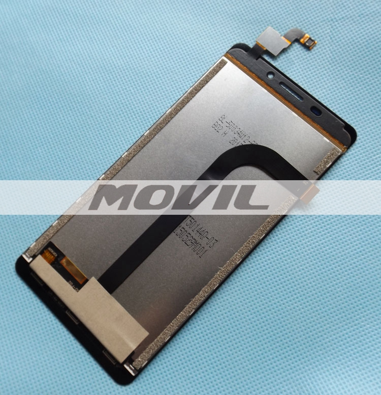 Original Doogee LCD+touch screen assembly for Doogee F2 IBIZA 4G FDD Smart Phone 5.0 MTK6732 Quad Core Android