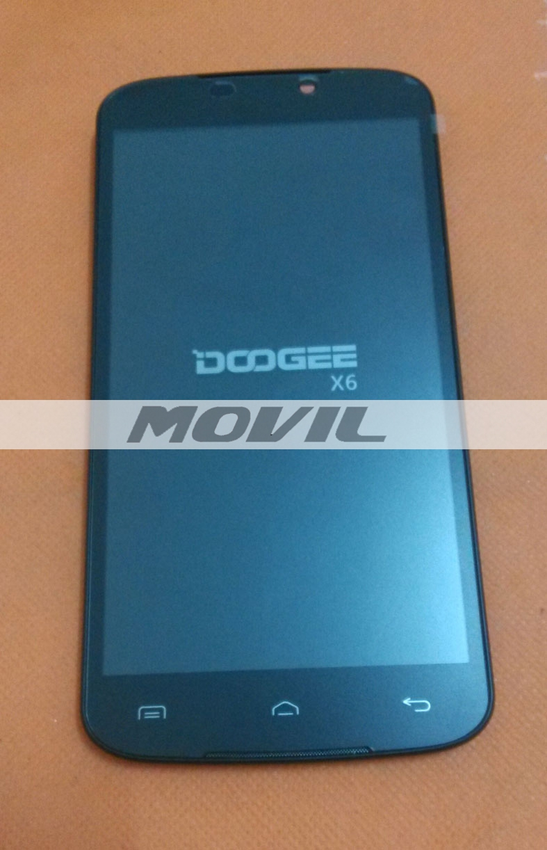 Original LCD Display +Digitizer Touch Screen Glass+ Frame for Doogee X6 MTK6580
