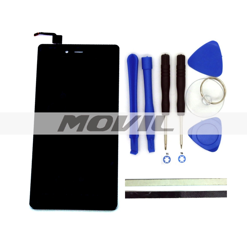 Original LCD Display +Digitizer Touch Screen Replacement For ZTE Nubia Z9 Max NX510J