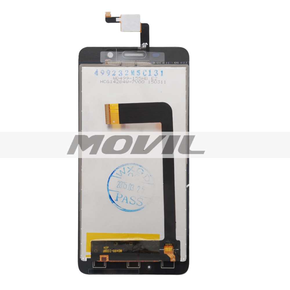 Original White Cubot X9 LCD and Touch Screen Assembly