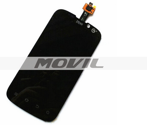 Original replaced parts Tested LCD for ZTE U930 U970 V970 LCD Display Touch Screen Digitizer Assembly Black