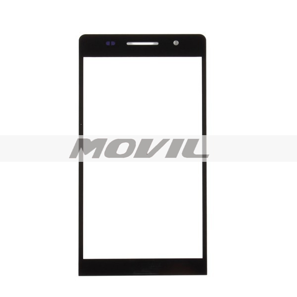 Outer Screen Front Glass Cover LCD Touch Screen Lens For Huawei Ascend P6