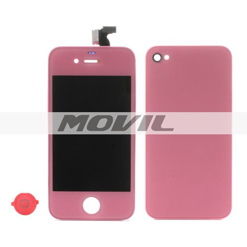 Pink for iPhone 4S Colored Conversion Kit