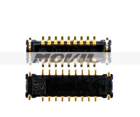 Power On Off Volume Button Flex Cable Mainboard FPC Connector for iPhone 5S