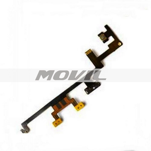 Power OnOff Volume button Silent Switch Control Flex Cable part for iPad 4 4G