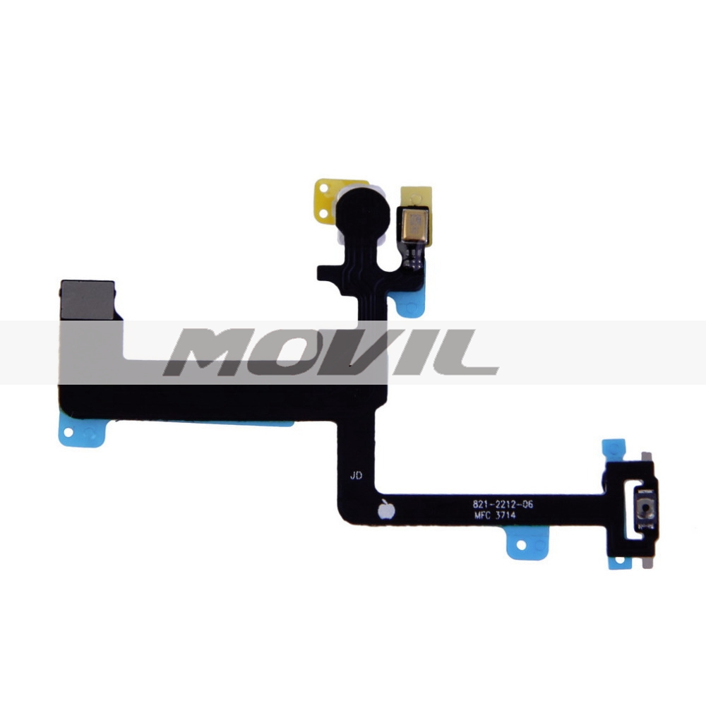 Power Switch On OFF Flex Cable Replacement Part For iPhone 6 Plus 5.5 Promotion