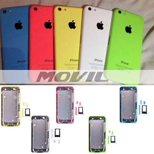 Replacement Back Cover Hard Aluminium Case for iPhone 5C with Tools