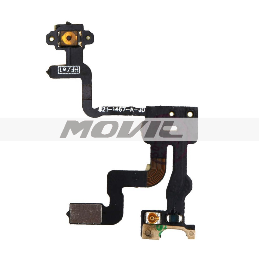 Replacement High quality Proximity Light Sensor Power Button Flex Cable Ribbon For iPhone 4S