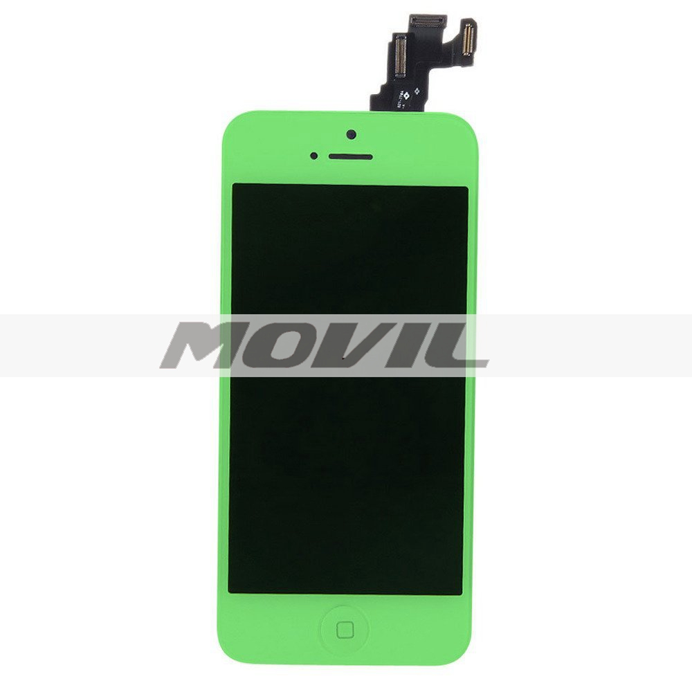 Replacement LCD Display and Touch Screen Digitizer for iPhone 5C green