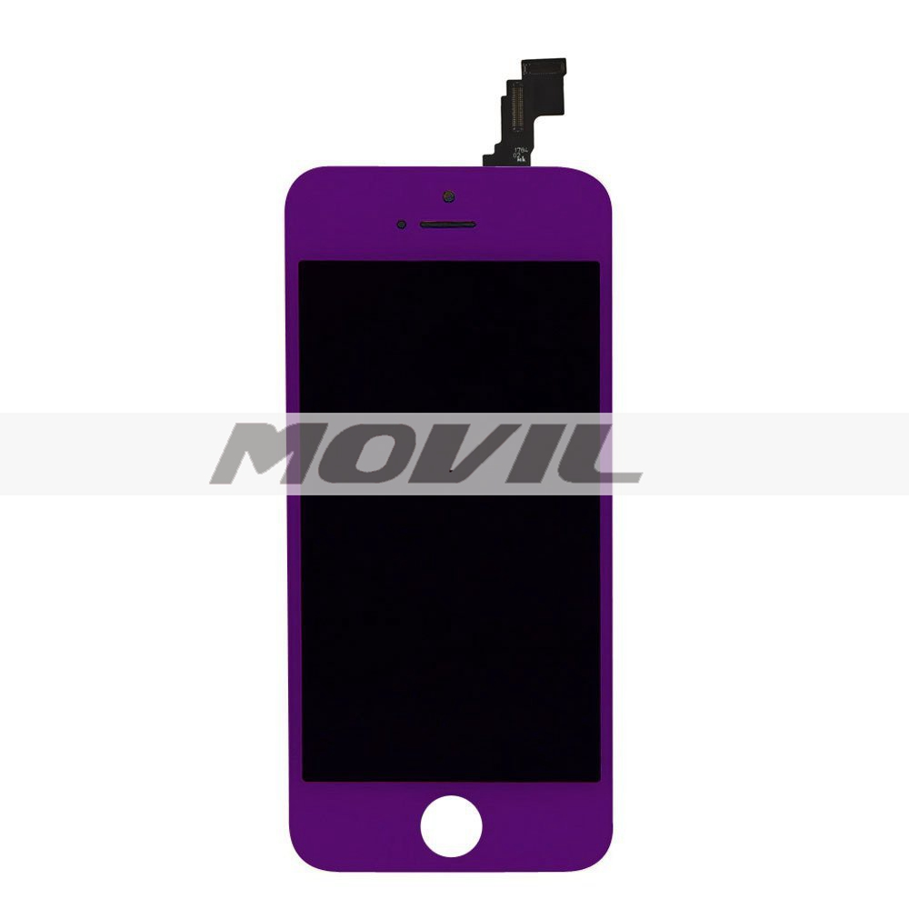 Replacement LCD Display and Touch Screen Digitizer for iPhone 5C purple