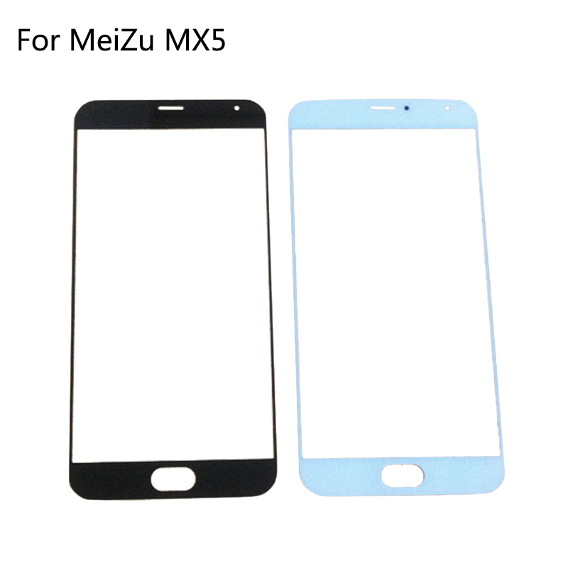Replacement Lcd Front glass For Meizu MX5 Screen Outer Glass Lens Window Repair Without Sensor Flex cable