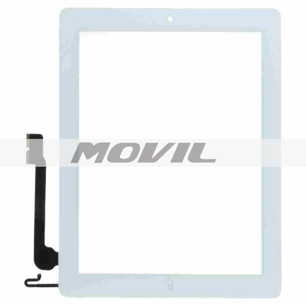 Replacement Touch Screen Display Glass Digitizer For iPad 4 White