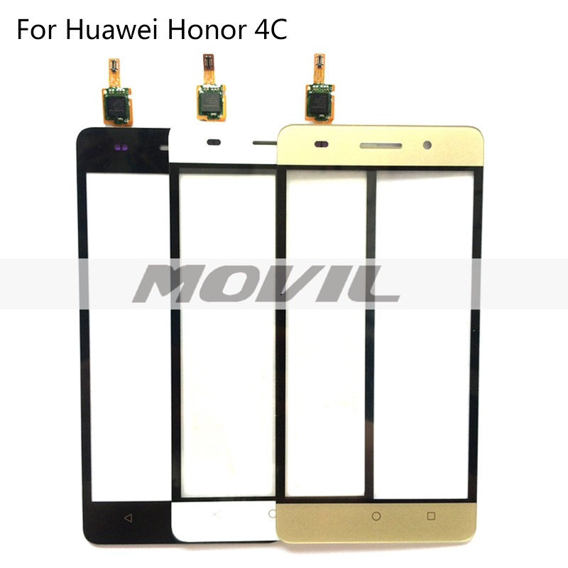 Sensor For Huawei Honor 4C Touch Screen Digitizer 5.0 inch front Lcd Touch panel Glass Black
