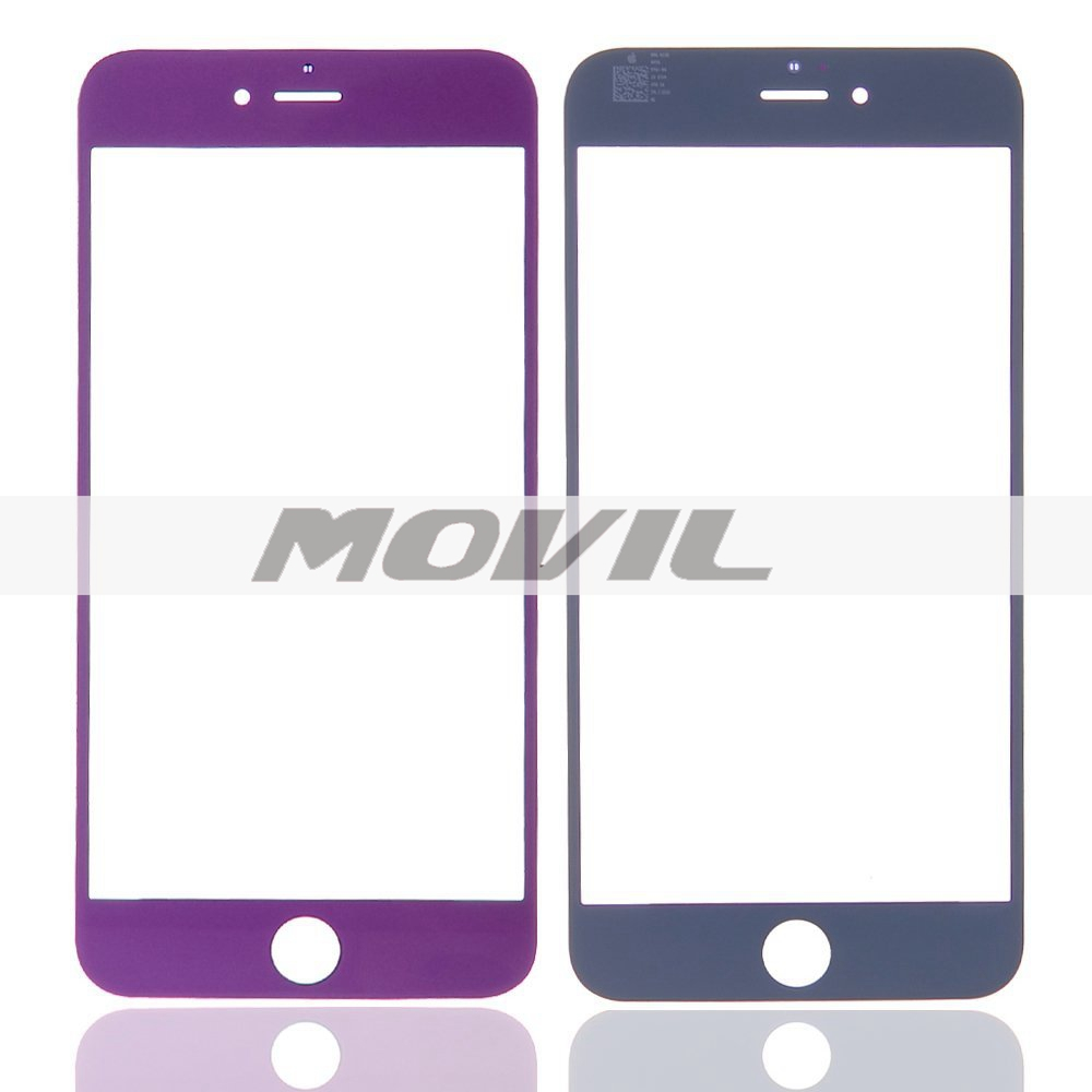 Somate Replacement LCD Front Screen Glass Lens with Free Tools for iPhone 6 Plus 5.5 Purple